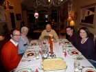 Christmas Eve dinner with the Grandparents.