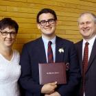 The proud parents.