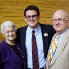 The proud Grandparents who support our children in everything they do! Thanks Pat and Wally!