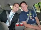 We made a stop at Wendy\'s on the way to the MTC. It\'s important to get that one last frosty in, right?!