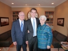 These generous grandparents bought this handsome missionary his suit. Gracias!