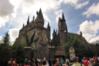 Hogwarts Castle - large and looming and towering.