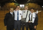 Elder Brown and companions all dressed up for the ward Halloween party!
