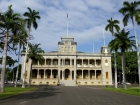 We took a fun tour through Iolani Palace in Honolulu. It was really interesting to learn more about the history of the Hawaiian nobility.