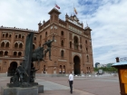 Plaza de Toros in Ventas. Phillip says he remembers Madrid for all the red brick everywhere.