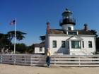 Point Pino Lighthouse - we got take a tour through the house and climb up the winding staircase to see the lantern. It's so interesting to hear about the people who keep lighthouses.