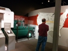 "The exhibits were so well done. This is the truck that Steinbeck drove all around the entire United States with his dog Charley. The resulting book...""Travels With Charley""."
