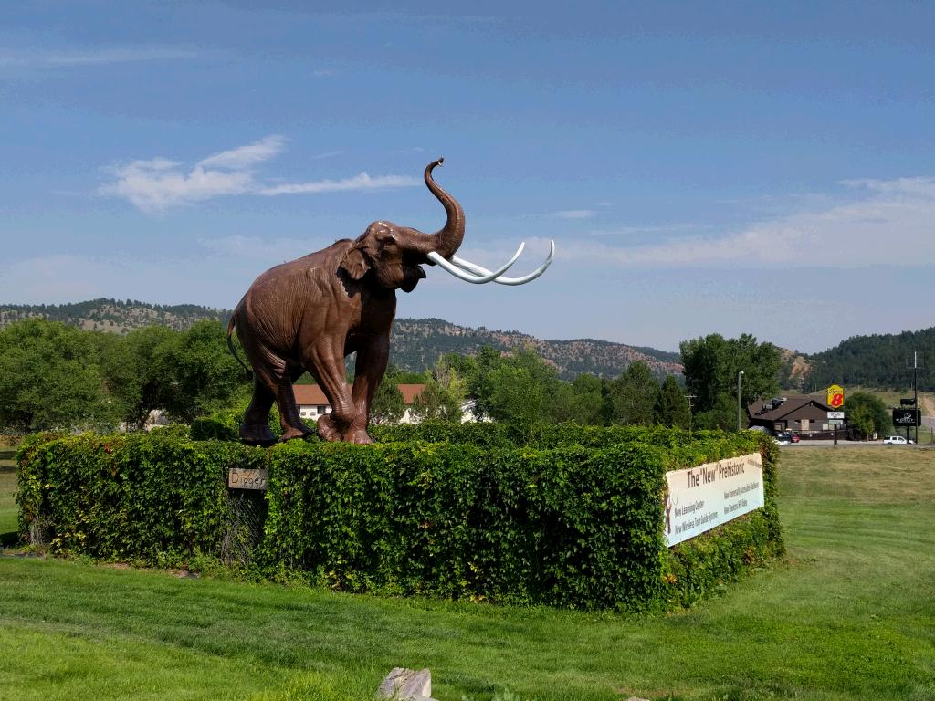 The Mammoth Site in Hot Springs, South Dakota