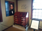 "It was pretty darn awesome to see the desk where he wrote ""The Scarlet Letter."" Just sayin'."