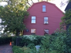 On the same property is the birthplace of Nathaniel Hawthorne.
