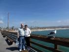 A beautiful day on Balboa Pier.