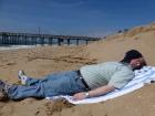 Alan's usual beach photo.