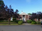 This is the cute church/institute building right on campus.