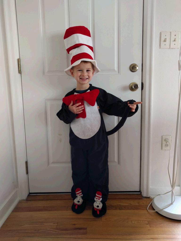 Our latest Cat in the Hat!