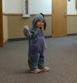 This Eeyore was hardly ever grumpy!