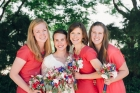 The bridesmaids - Tess's awesome lifelong friends.