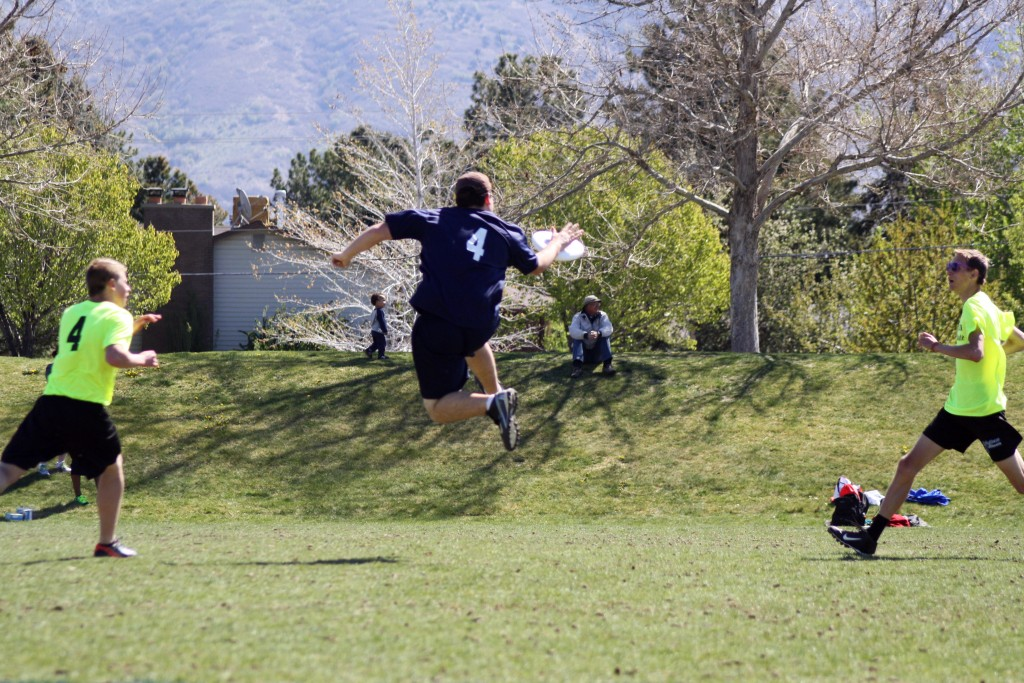 Ultimate Frisbee - great spring sport!